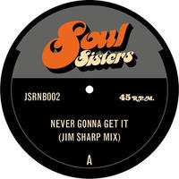 5月上旬入荷予定 - JIM SHARP / NEVER GONNA GET IT b/w IT ALWAYS SEEMS TO GO [7inch]