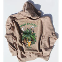 HOUSE OF CARDS HOODY(SAND)