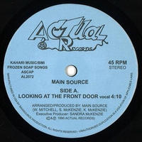 MAIN SOURCE / LOOKING AT THE FRONT DOOR [7inch]