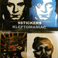 KLEPTOMANIAC / 9 STICKERS TYPE H [STICKER]