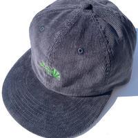 BlackFace CORD CAP -Navy / Buds Green-