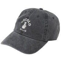 CLASSIC BONG 6PANELS CAP(WASH BLACK)
