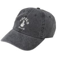 CLASSIC BONG 6PANELS CAP(WASH BLACK)