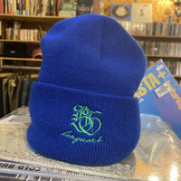 Banguard×Lef deep Knit Cap(blue&green)