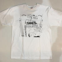 North Back Medical Center Tee(WHITE)