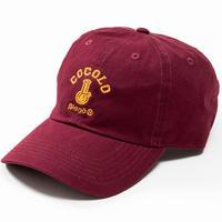CLASSIC BONG 6PANELS CAP (BURGUNDY)