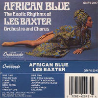 LES BAXTER / AFRICAN BLUE [TAPE]