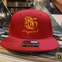 Banguard&Lefdeep snapback(RED)