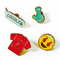 EMOJI PINS (GREEN BONG&BONG Tee&SMILE&COCOLO)