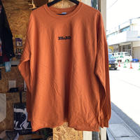 BNGRD L/S tee (Dark Orange)