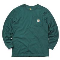 CARHARTT  L/S WORKWEAR POCKET TEE K126 -HUNTER GREEN-