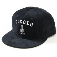 ORIGINAL BONG CORD SNAPBACK CAP(BLACK)