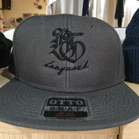 Banguard&Lefdeep snapback(DARK GRAY/BLACK)