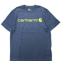 CARHARTT K195 Tee [DARK COBALT BLUE HETHER]