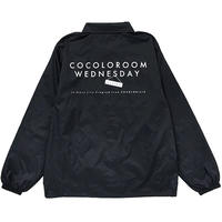 COCOLO ROOM WEDNESDAY COACH JKT (BLACK)