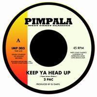 2PAC | KING TEE / KEEP YA HEAD UP-PLAYED LIKE A PIANO [7inch]