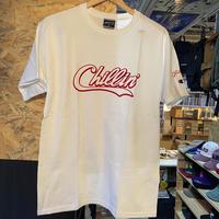 -PRILLMAL- Chillin'!!! S/S T-SHIRTS (white× red)
