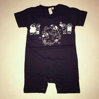 Banguard Baby rompers( black)