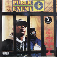 PUBLIC ENEMY	 / IT TAKES A NATION OF MILLIONS TO HOLD US BACK [LP]