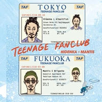 HIDENKA × MANTIS / TEENAGE FANCLUB [CD]