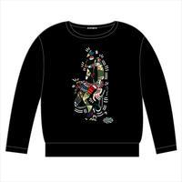 [受注生産] 11/25 21:00締切 - ALEA SWEAT  (BLACK) -12月中旬発売予定-