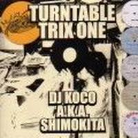 DJ KOCO aka SHIMOKITA / URNTABLE TRIX ONE [MIX CD]
