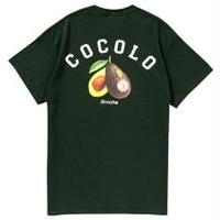 AVOCADO S/S TEE (DARK GREEN)