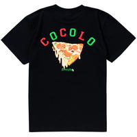 PIZZA S/S TEE (BLACK)
