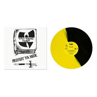 WU-TANG CLAN / PROTECT YA NECK (SPLIT YELLOW & BLACK VINYL) [12inch]