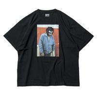 6月発売 / TIGHTBOOTH x OILWORKS - KUBRICK T-SHIRT BLACK SHIRT