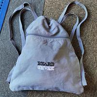 BNGRD pigment canvas sack (INDIGO)