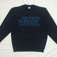 GALAXY WARS CREW NECK SWEAT (BLUE)