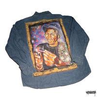 Burning US Denim shirts -size XL only-