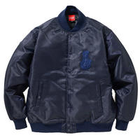 BONG APPLIQUE STADIUM JKT (NAVY)