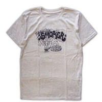 ROLLERS / TEENAGE SMOKER S/S Tee . Oatmeal