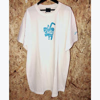 PRILLMAL WHITE COOLIN' S/S TEE '(white/aqua)