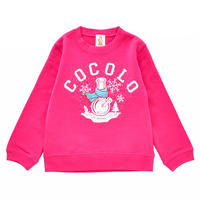 KIDS WINTER BONG CREWNECK SWEAT (PINK)