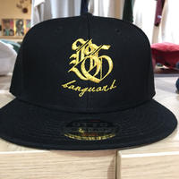 Banguard&Lefdeep snapback(BLACK/GOLD)