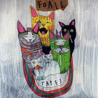 Foals ‎/ Tapes [MIX CD]