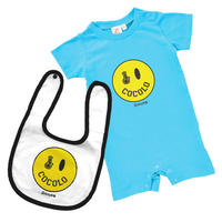 SMILEY BONG BABY SET (Lt-BLUE)