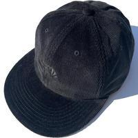 BlackFace CORD CAP -Black / Black-