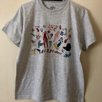 yokai_puff_cloud TEE (ASH GRAY)