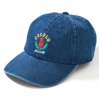 LEAF BONG 6PANEL CAP (DENIM)