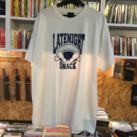 -PRILLMAL- LATE NIGHT SNACK !!! : S/S T-SHIRTS (White&Navy)