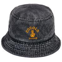DENIM BUCKET HAT (BLACK)