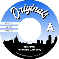 BOB JAMES/DJ MUGGS & PLANET ASIA - FARANDOLE (DNA EDIT) / LIONS IN THE FOREST (FEAT. B REAL) [7inch]