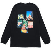 FRUITS CITY L/S TEE (BLACK)