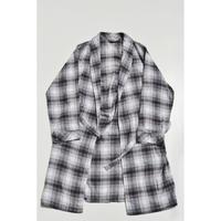 """""""Calvin Klein"""" Cotton Flannel Checked Gown"""