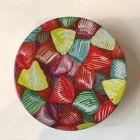 フランス/アンティーク TIN 缶/キャンディ柄
