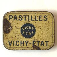 フランス/アンティーク TIN 缶/PASTILLES VICHY-ETAT